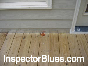 Bad Deck Flashing