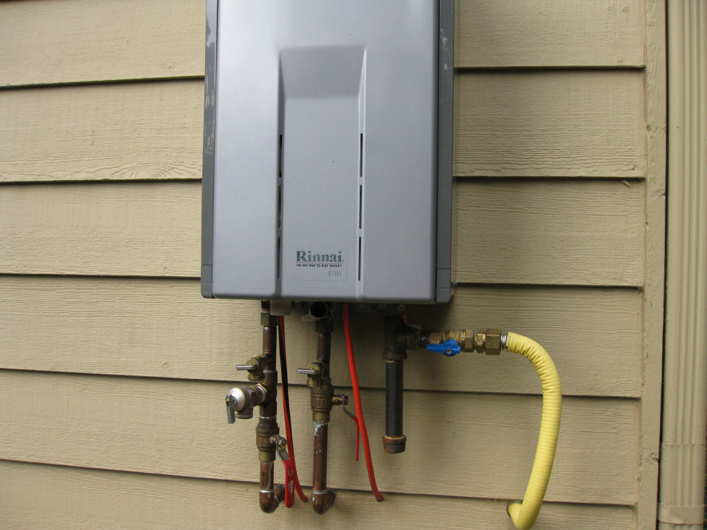 tankless water heater pictures and questions